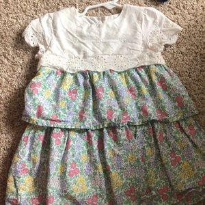 Gap baby girl dress size 18-24 mo floral